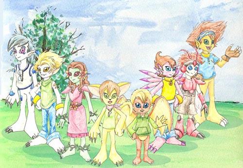 The Digimon-Destined